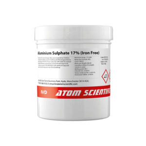 Aluminium Sulphate 17% (Iron Free)