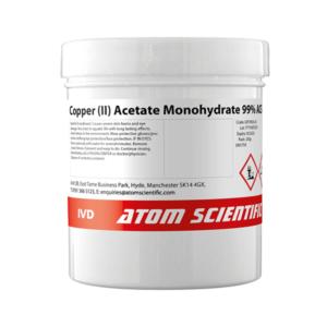 Copper (II) Acetate Monohydrate 99% ACS