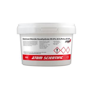 Aluminium Chloride Hexahydrate 99.9%