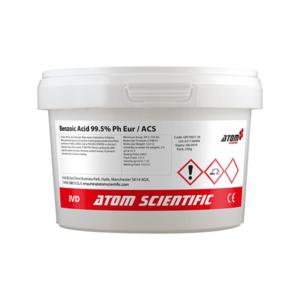 Benzoic Acid 99.5% Ph Eur ACS