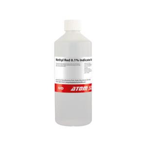 Methyl Red 0.1% Indicator Solution in Ethanol