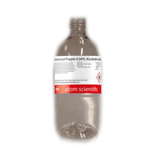 Bromocresol Purple 0.04% Alcoholic Indicator