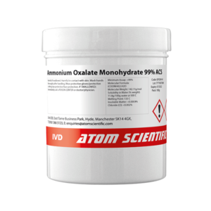 Ammonium Oxalate Monohydrate 99% ACS