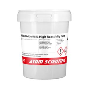 Calcium Oxide 96% High Reactivity Fine