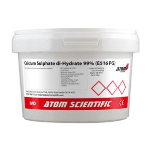 Calcium Sulphate di-Hydrate 99% (E516 FG)
