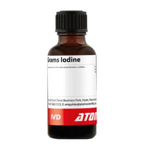Grams Iodine