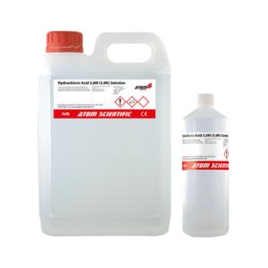 Hydrochloric Acid 5.0M (5.0N) Solution