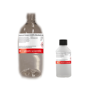 Bromocresol Green 0.04% Alcoholic Indicator
