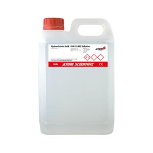 Hydrochloric Acid 1.0M (1.0N) Solution