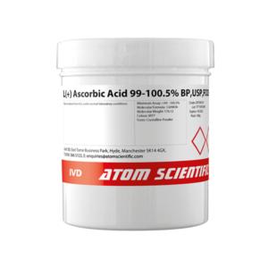 L(+) Ascorbic Acid 99-100.5% BP,USP,FCC8