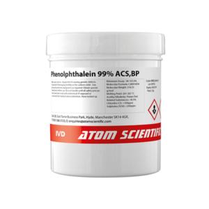 Phenolphthalein 99% ACS,BP