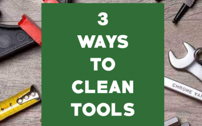 3 Ways to Clean Tools