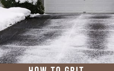 How to Grit Your Driveway