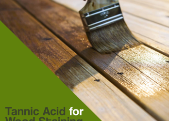 Tannic Acid for Wood Staining