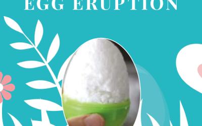 Surprise Egg Eruption