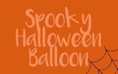APC's Spooktacular Fun: Spooky Halloween Balloon